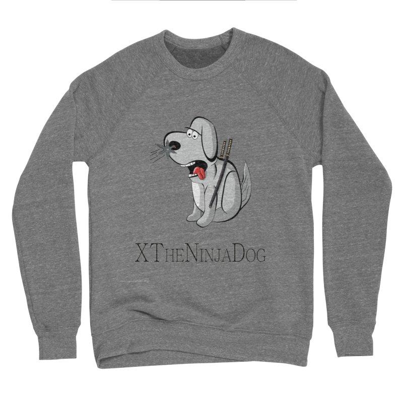 XTheNinjaDog Men's Sponge Fleece Sweatshirt by Every Drop's An Idea's Artist Shop