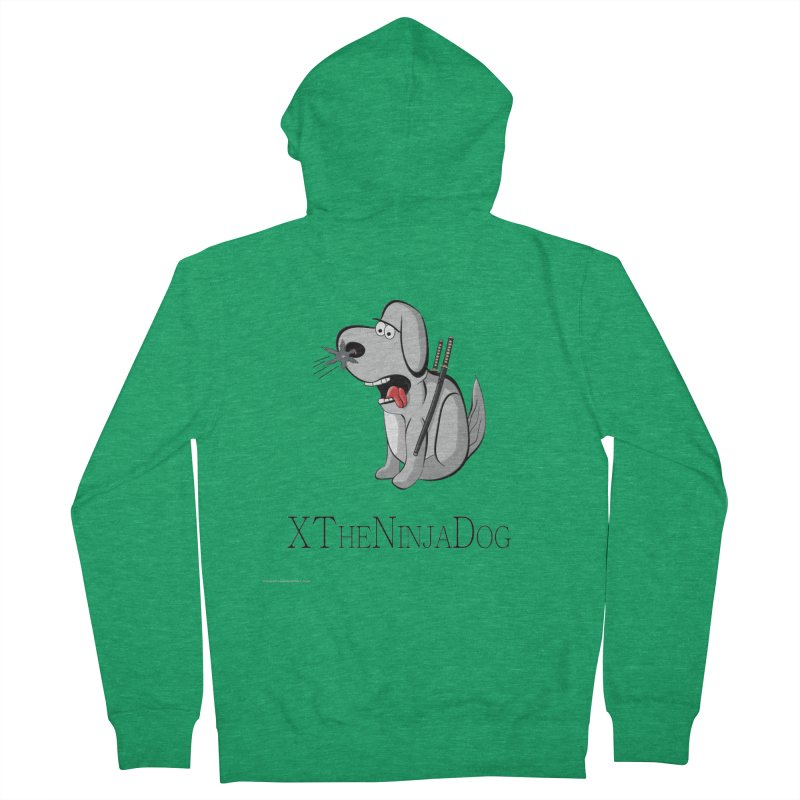XTheNinjaDog Women's Zip-Up Hoody by Every Drop's An Idea's Artist Shop