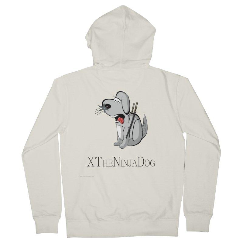 XTheNinjaDog Men's Zip-Up Hoody by Every Drop's An Idea's Artist Shop