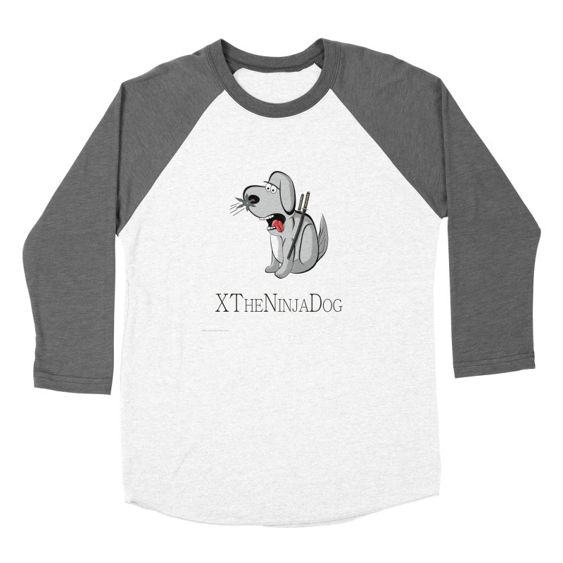 XTheNinjaDog Feminie Longsleeve T-Shirt by Every Drop's An Idea's Artist Shop