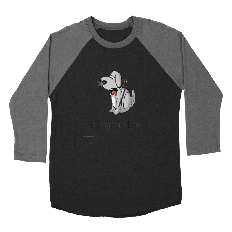 XTheNinjaDog Women's Longsleeve T-Shirt by Every Drop's An Idea's Artist Shop