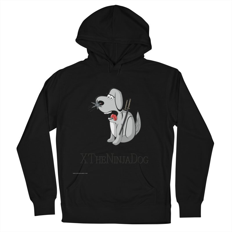 XTheNinjaDog Men's French Terry Pullover Hoody by Every Drop's An Idea's Artist Shop