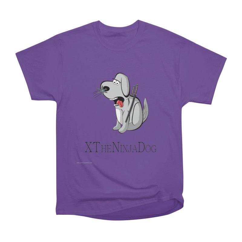 XTheNinjaDog Women's Heavyweight Unisex T-Shirt by Every Drop's An Idea's Artist Shop