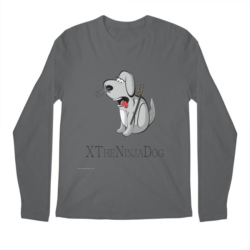 XTheNinjaDog Men's Longsleeve T-Shirt by Every Drop's An Idea's Artist Shop