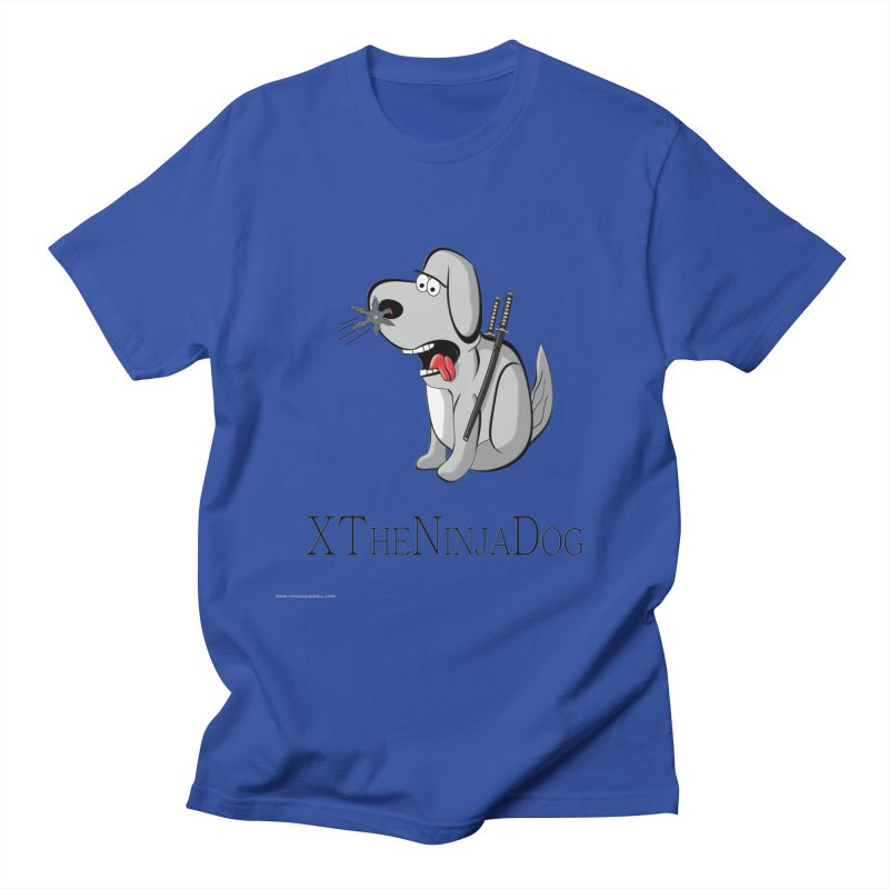 XTheNinjaDog Men's T-Shirt by Every Drop's An Idea's Artist Shop
