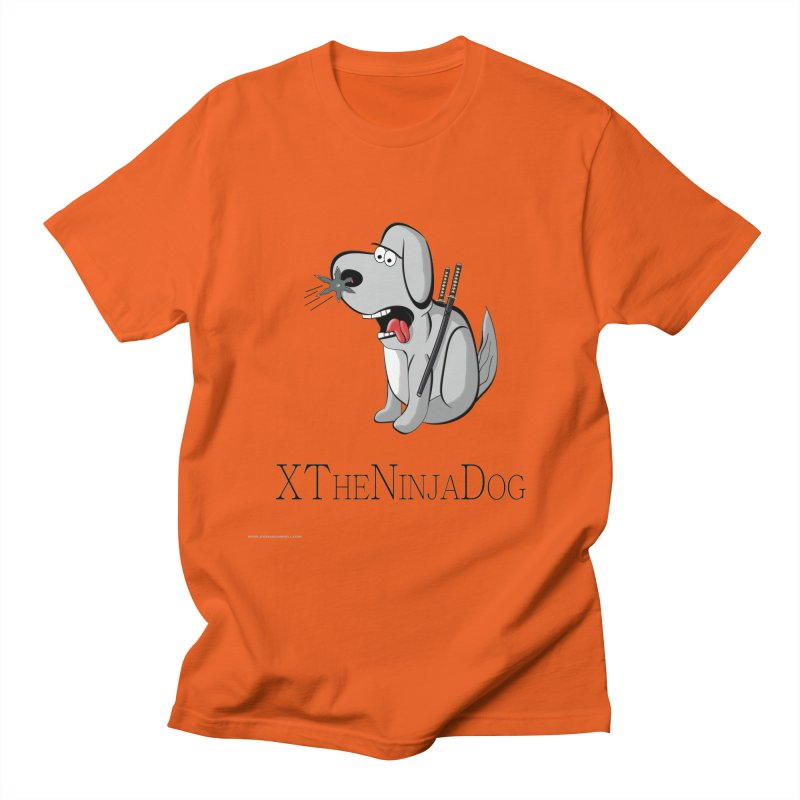 XTheNinjaDog Women's T-Shirt by Every Drop's An Idea's Artist Shop