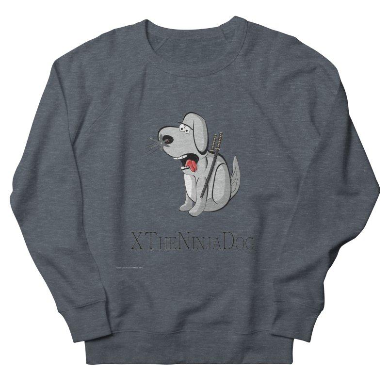 XTheNinjaDog Men's French Terry Sweatshirt by Every Drop's An Idea's Artist Shop