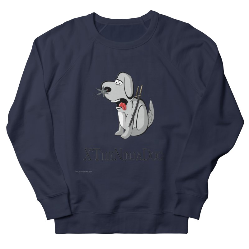 XTheNinjaDog Men's French Terry Sweatshirt by Every Drop's An Idea's Artist Shop