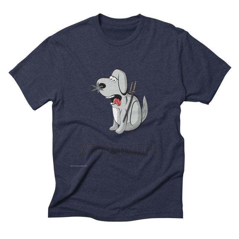 XTheNinjaDog Men's Triblend T-Shirt by Every Drop's An Idea's Artist Shop