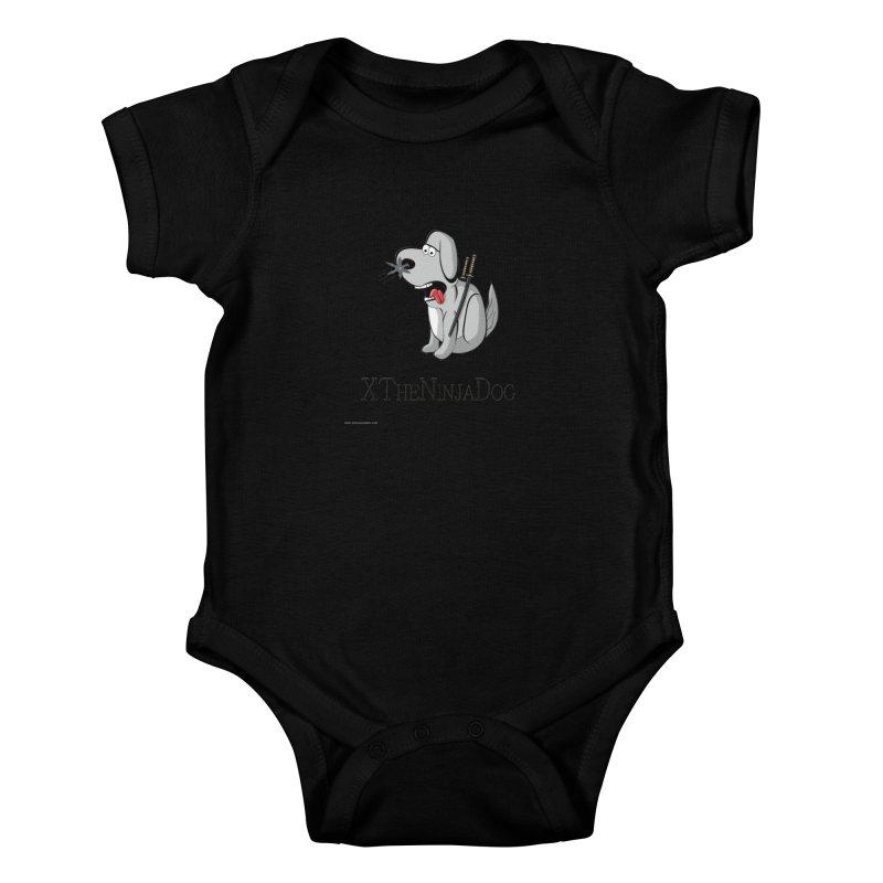 XTheNinjaDog Kids Baby Bodysuit by Every Drop's An Idea's Artist Shop