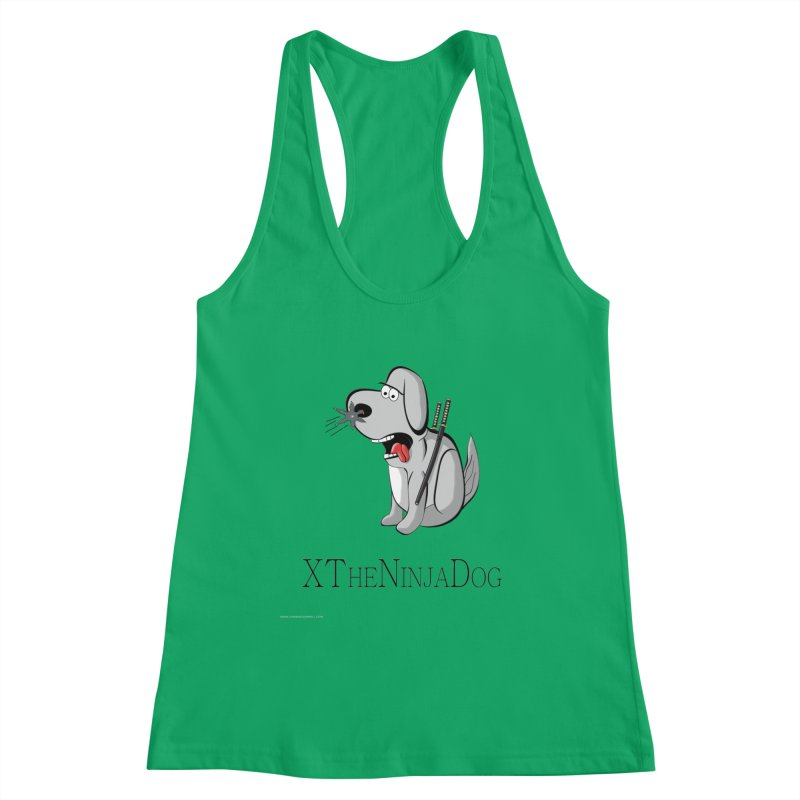 XTheNinjaDog Women's Tank by Every Drop's An Idea's Artist Shop