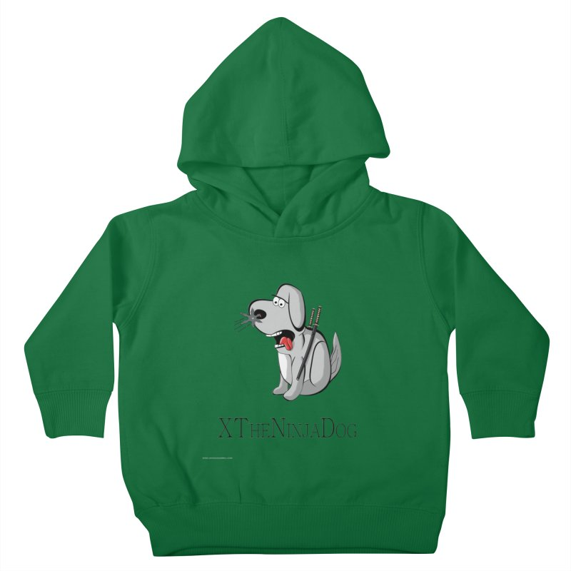 XTheNinjaDog Kids Toddler Pullover Hoody by Every Drop's An Idea's Artist Shop