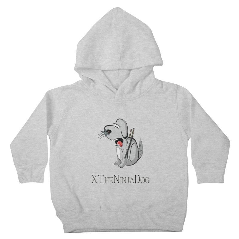 XTheNinjaDog Kids Toddler Pullover Hoody by Every Drop's An Idea's Artist Shop