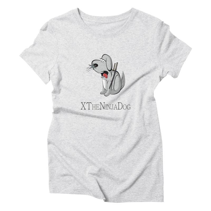 XTheNinjaDog Women's Triblend T-Shirt by Every Drop's An Idea's Artist Shop