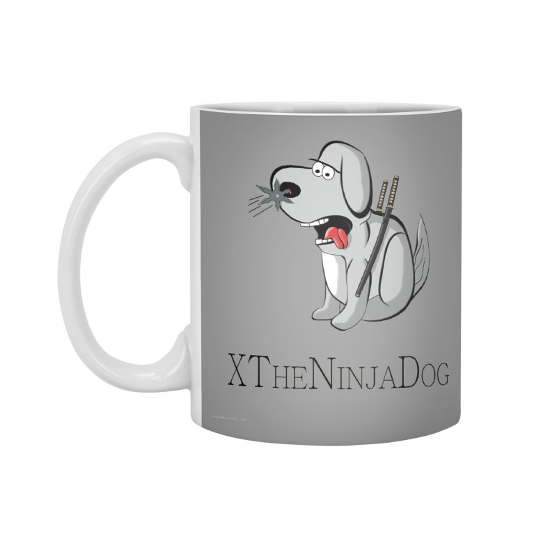 XTheNinjaDog Accessories Standard Mug by Every Drop's An Idea's Artist Shop