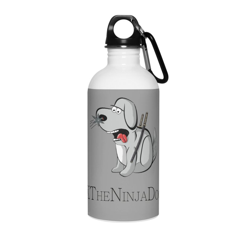 XTheNinjaDog Accessories Water Bottle by Every Drop's An Idea's Artist Shop