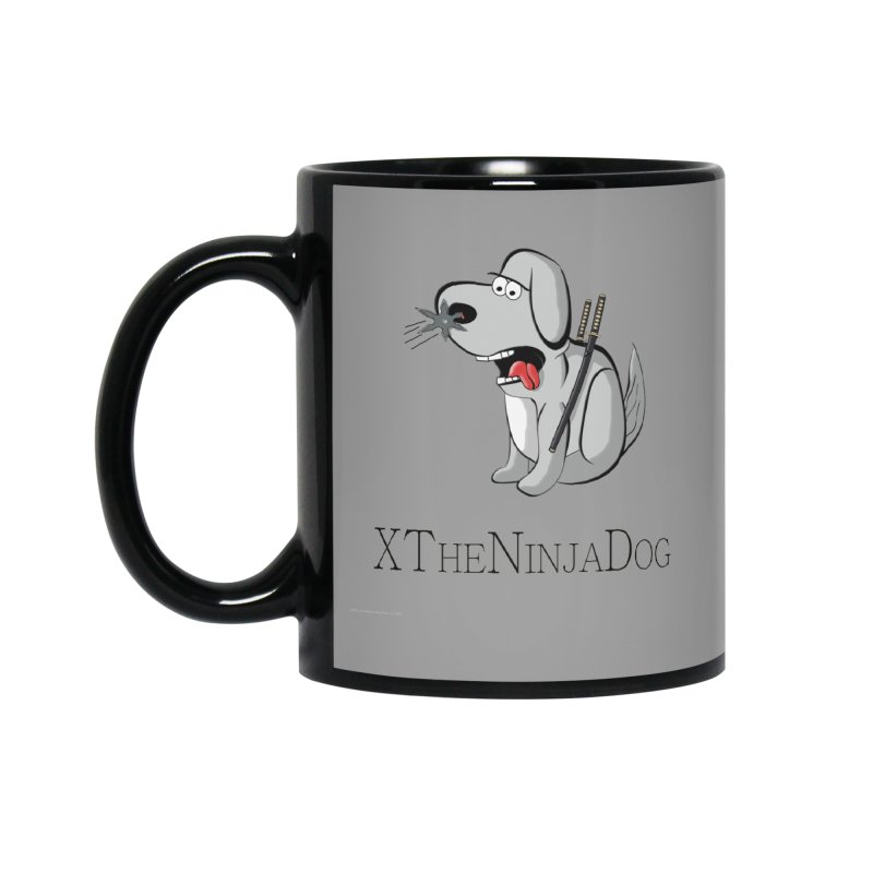 XTheNinjaDog Accessories Mug by Every Drop's An Idea's Artist Shop
