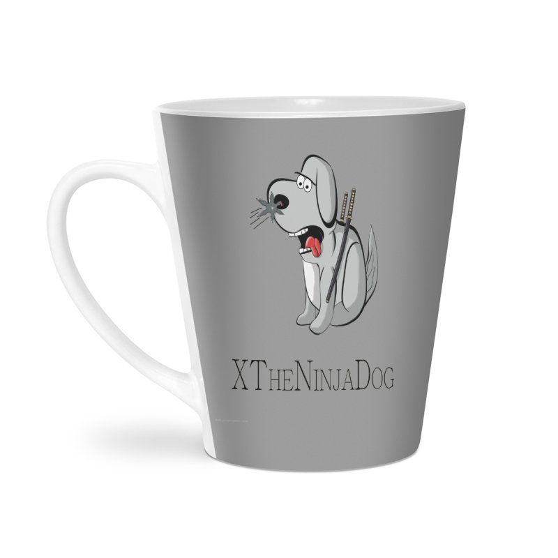 XTheNinjaDog Accessories Latte Mug by Every Drop's An Idea's Artist Shop