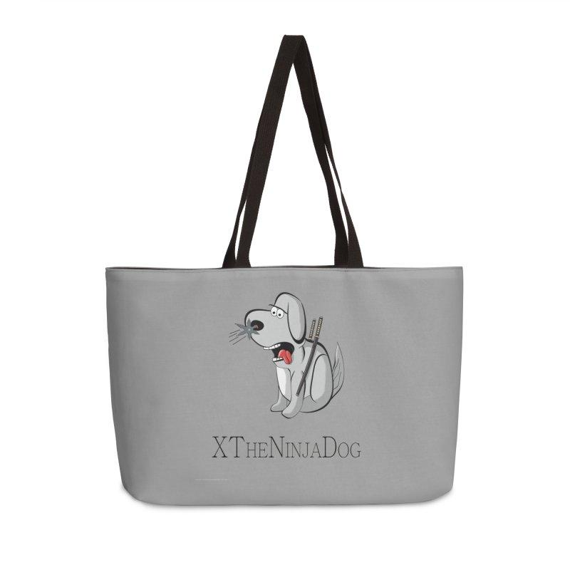XTheNinjaDog Accessories Weekender Bag Bag by Every Drop's An Idea's Artist Shop