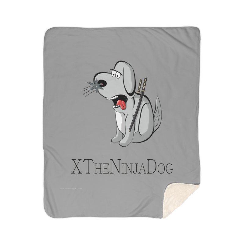 XTheNinjaDog Home Blanket by Every Drop's An Idea's Artist Shop