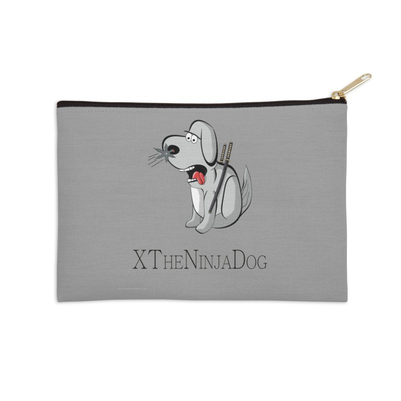 XTheNinjaDog Accessories Zip Pouch by Every Drop's An Idea's Artist Shop