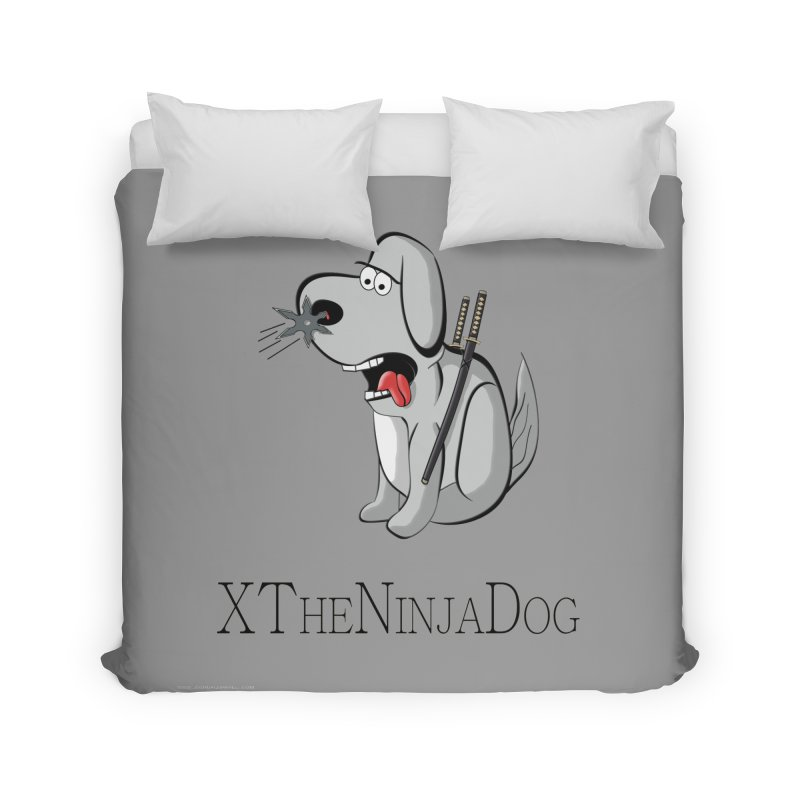 XTheNinjaDog Home Duvet by Every Drop's An Idea's Artist Shop