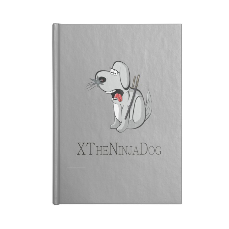 XTheNinjaDog Accessories Notebook by Every Drop's An Idea's Artist Shop