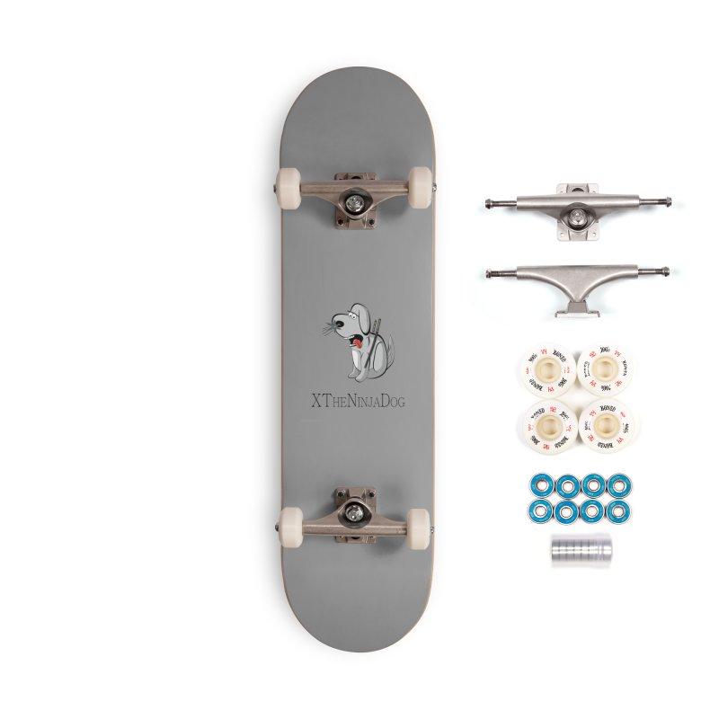 XTheNinjaDog Accessories Complete - Premium Skateboard by Every Drop's An Idea's Artist Shop