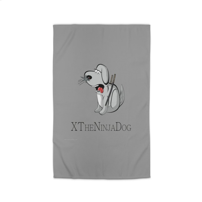 XTheNinjaDog Home Rug by Every Drop's An Idea's Artist Shop