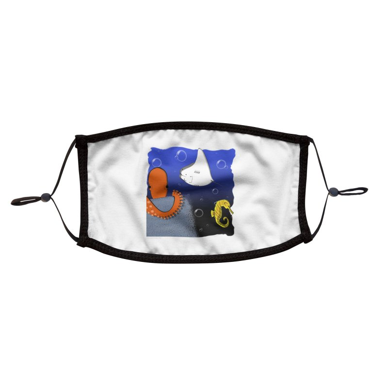 Sea Life Accessories Face Mask by Every Drop's An Idea's Artist Shop