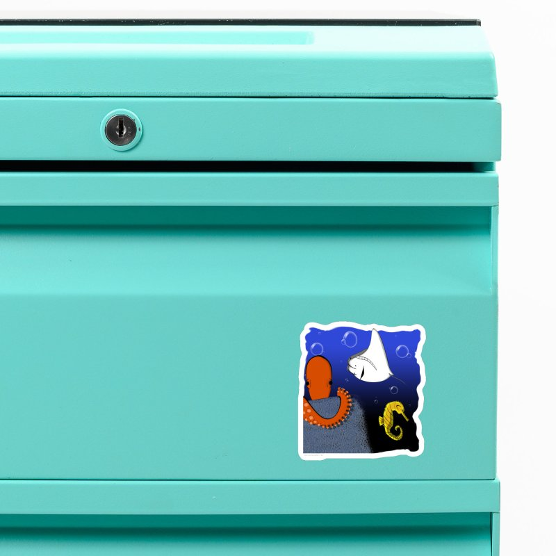 Sea Life Accessories Magnet by Every Drop's An Idea's Artist Shop