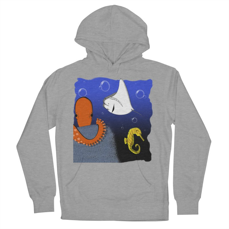 Sea Life Women's Pullover Hoody by Every Drop's An Idea's Artist Shop