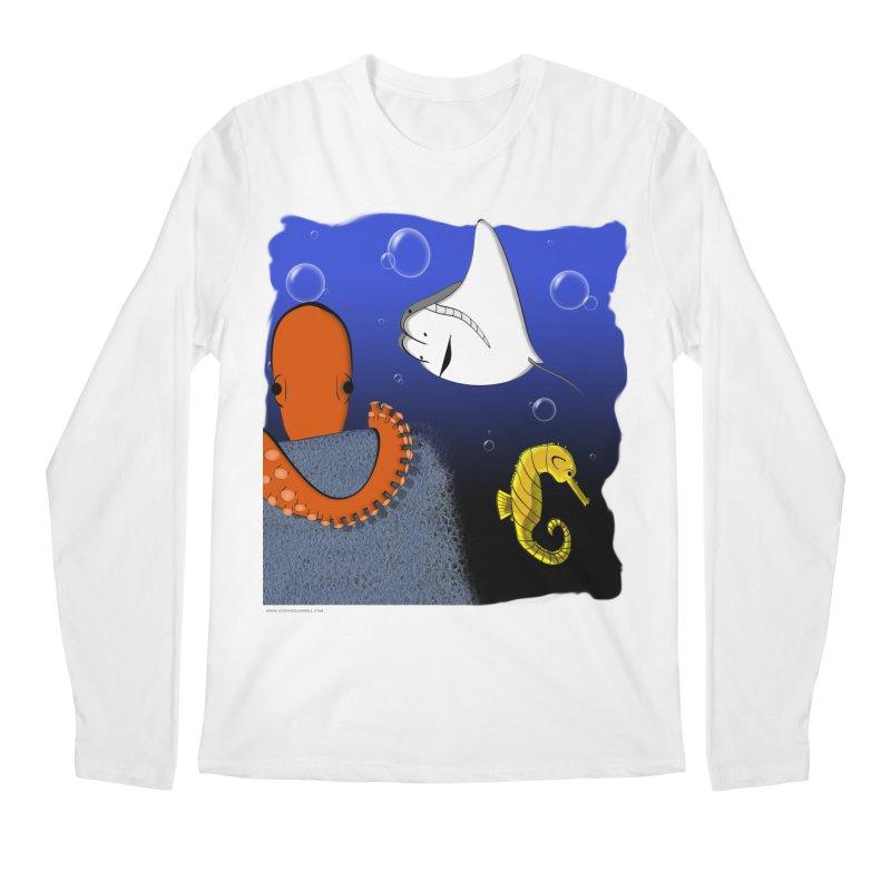 Sea Life Men's Regular Longsleeve T-Shirt by Every Drop's An Idea's Artist Shop