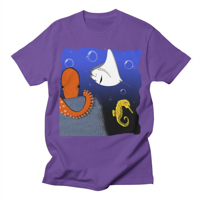 Sea Life Women's Regular Unisex T-Shirt by Every Drop's An Idea's Artist Shop