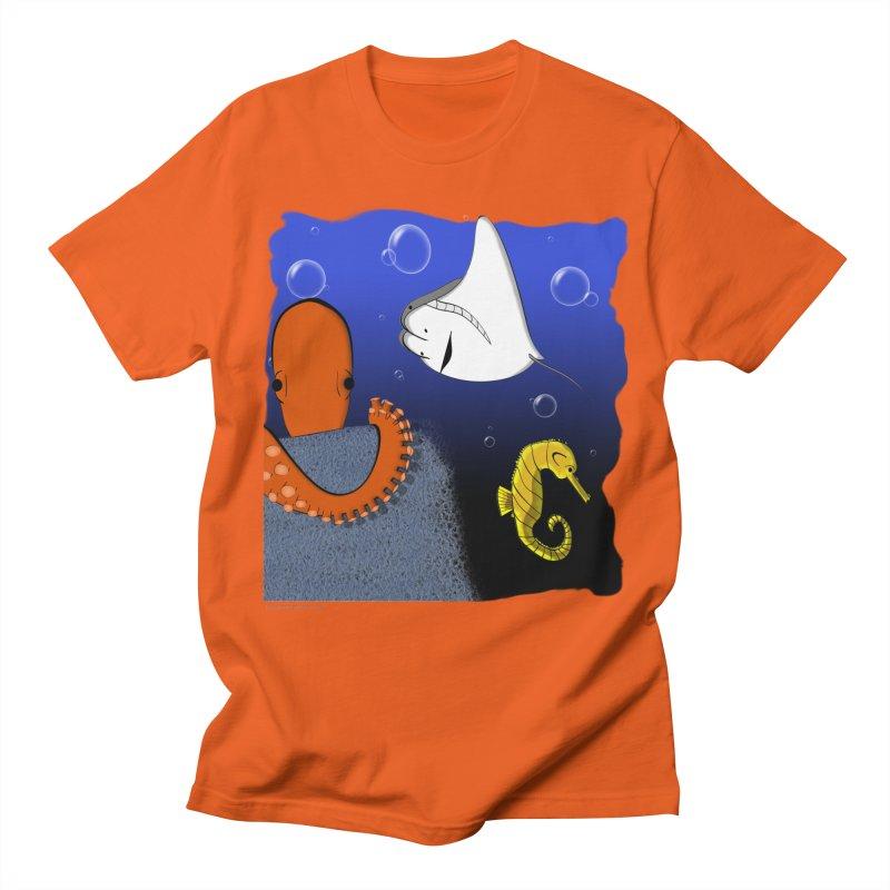 Sea Life Men's Regular T-Shirt by Every Drop's An Idea's Artist Shop