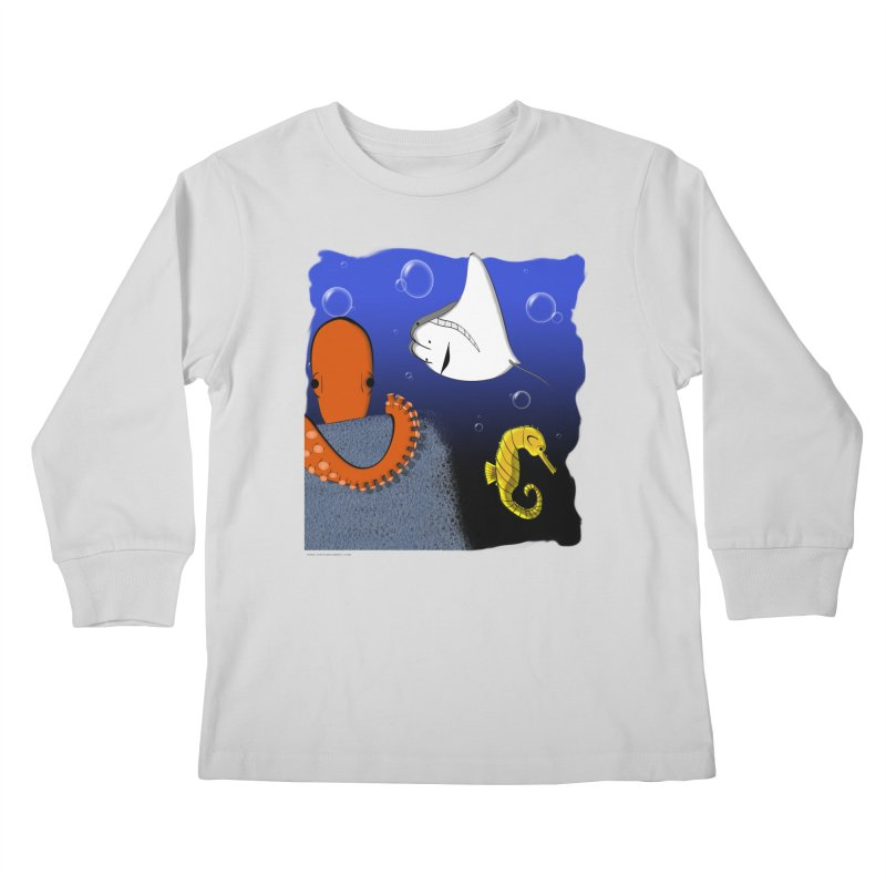 Sea Life Kids Longsleeve T-Shirt by Every Drop's An Idea's Artist Shop