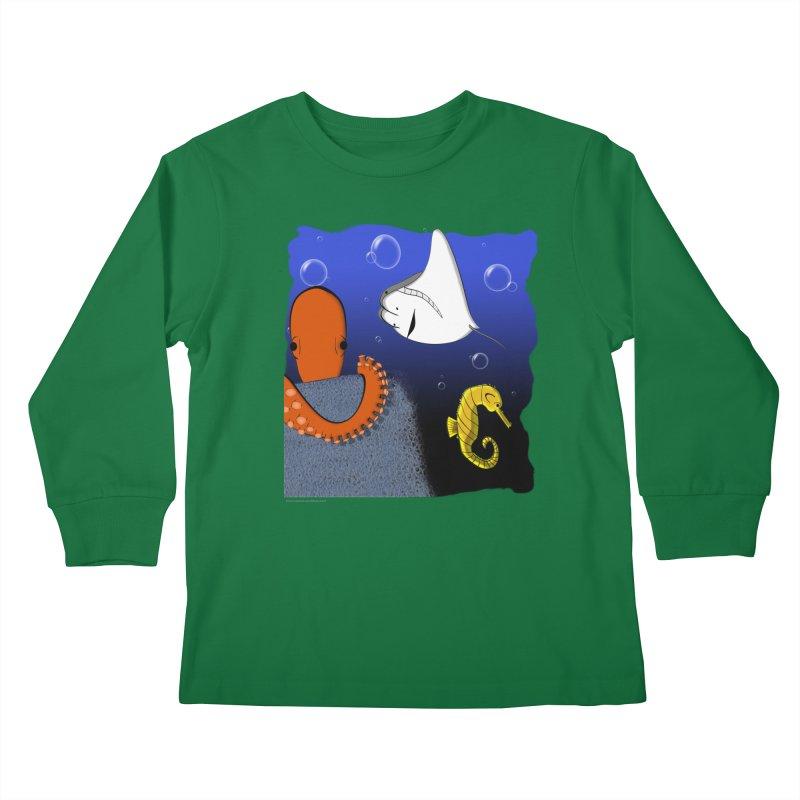 Sea Life Kids Longsleeve T-Shirt by Every Drop's An Idea's Artist Shop