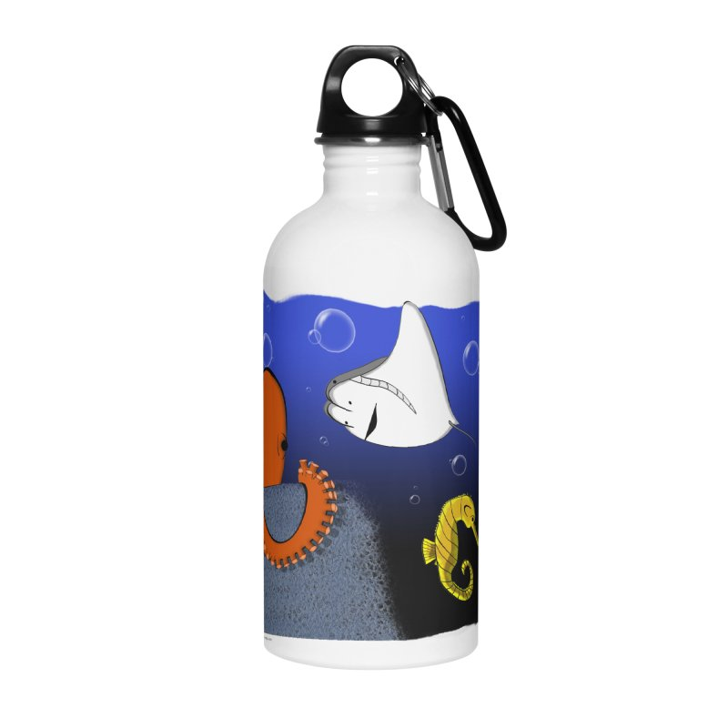 Sea Life Accessories Water Bottle by Every Drop's An Idea's Artist Shop