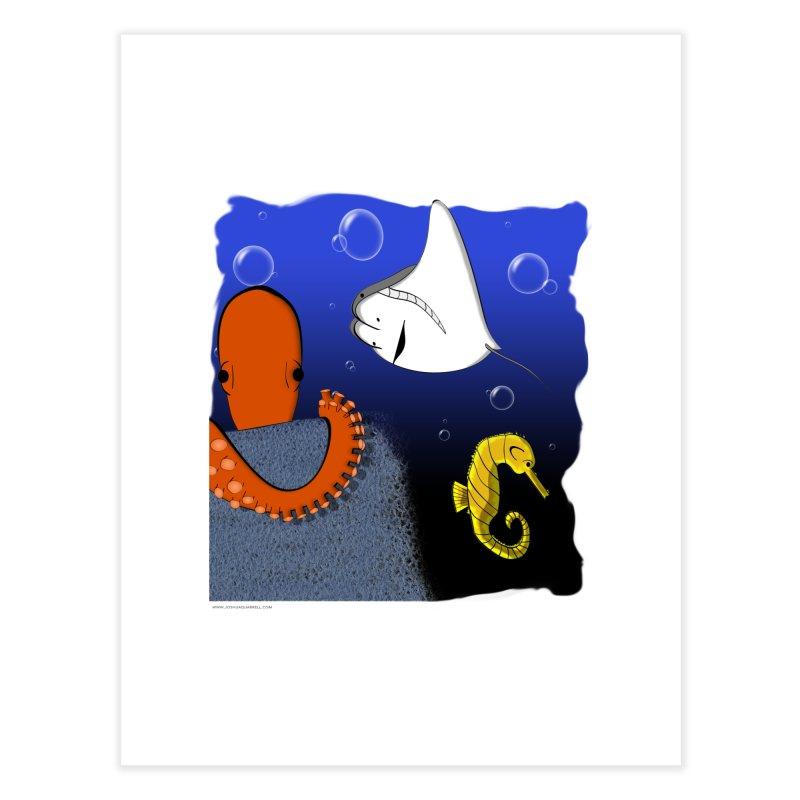 Sea Life Home Fine Art Print by Every Drop's An Idea's Artist Shop