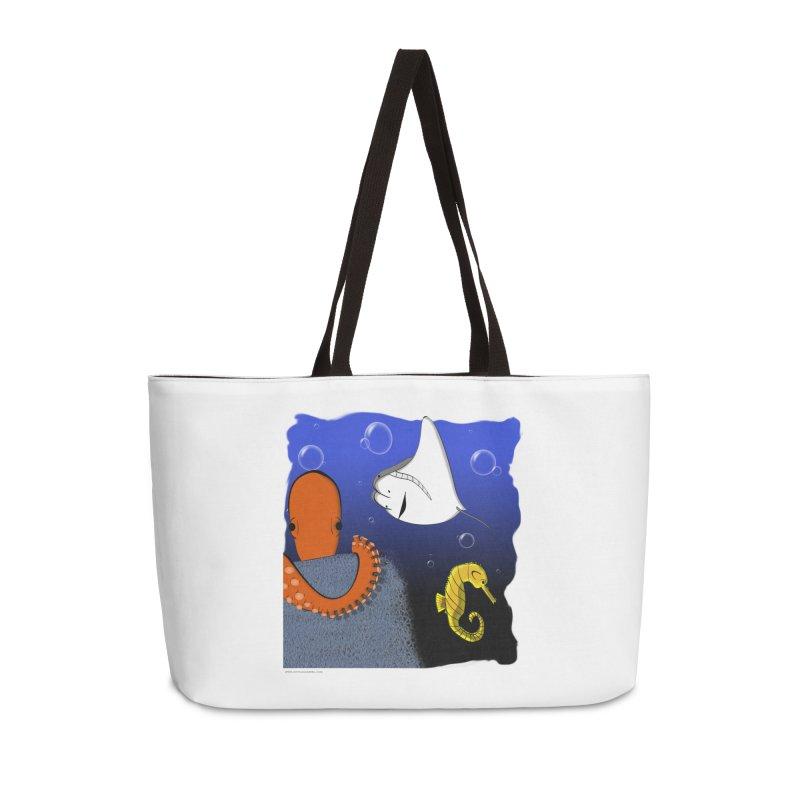 Sea Life Accessories Weekender Bag Bag by Every Drop's An Idea's Artist Shop