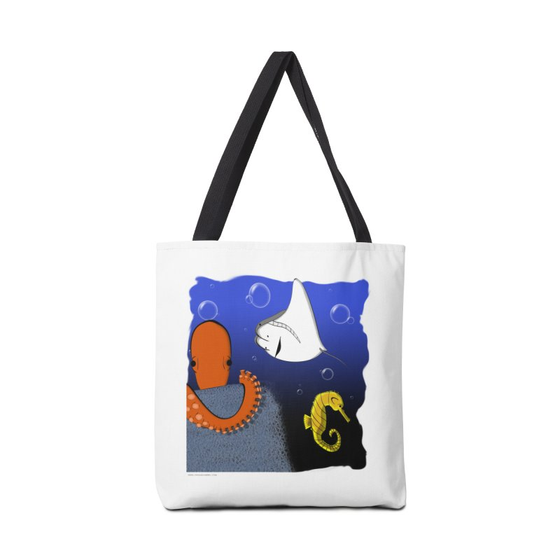 Sea Life Accessories Tote Bag Bag by Every Drop's An Idea's Artist Shop