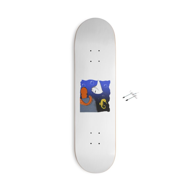 Sea Life Accessories With Hanging Hardware Skateboard by Every Drop's An Idea's Artist Shop