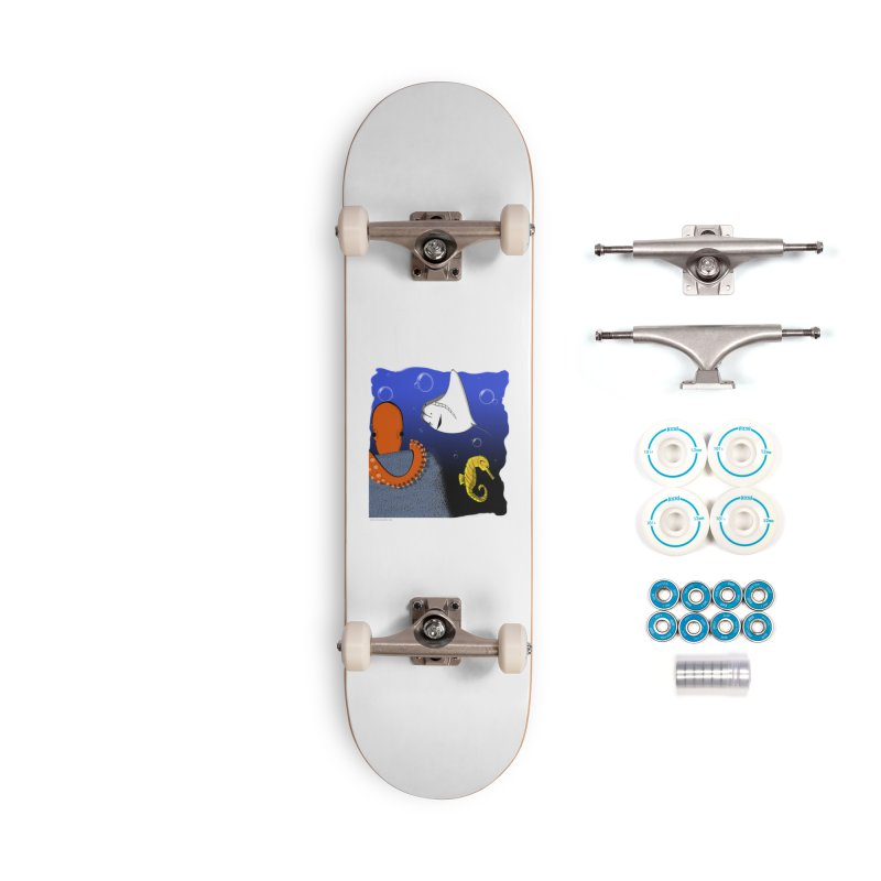 Sea Life Accessories Complete - Basic Skateboard by Every Drop's An Idea's Artist Shop