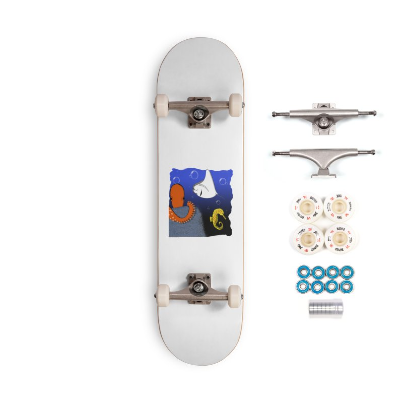 Sea Life Accessories Complete - Premium Skateboard by Every Drop's An Idea's Artist Shop