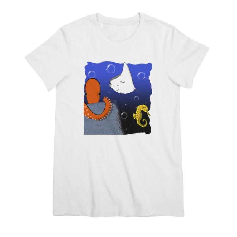 Sea Life Women's T-Shirt by Every Drop's An Idea's Artist Shop