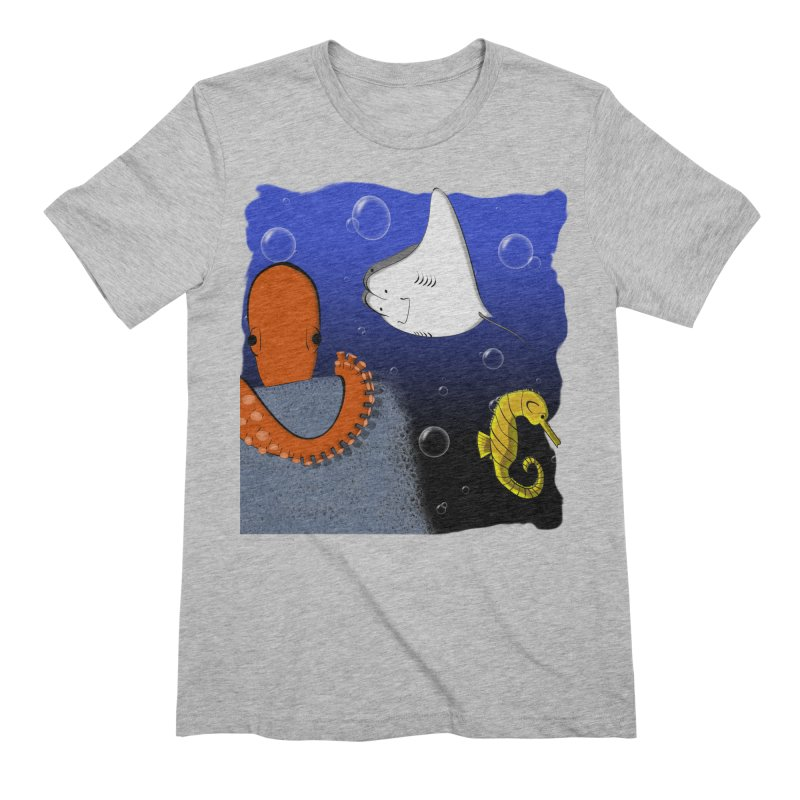 Sea Life Men's T-Shirt by Every Drop's An Idea's Artist Shop