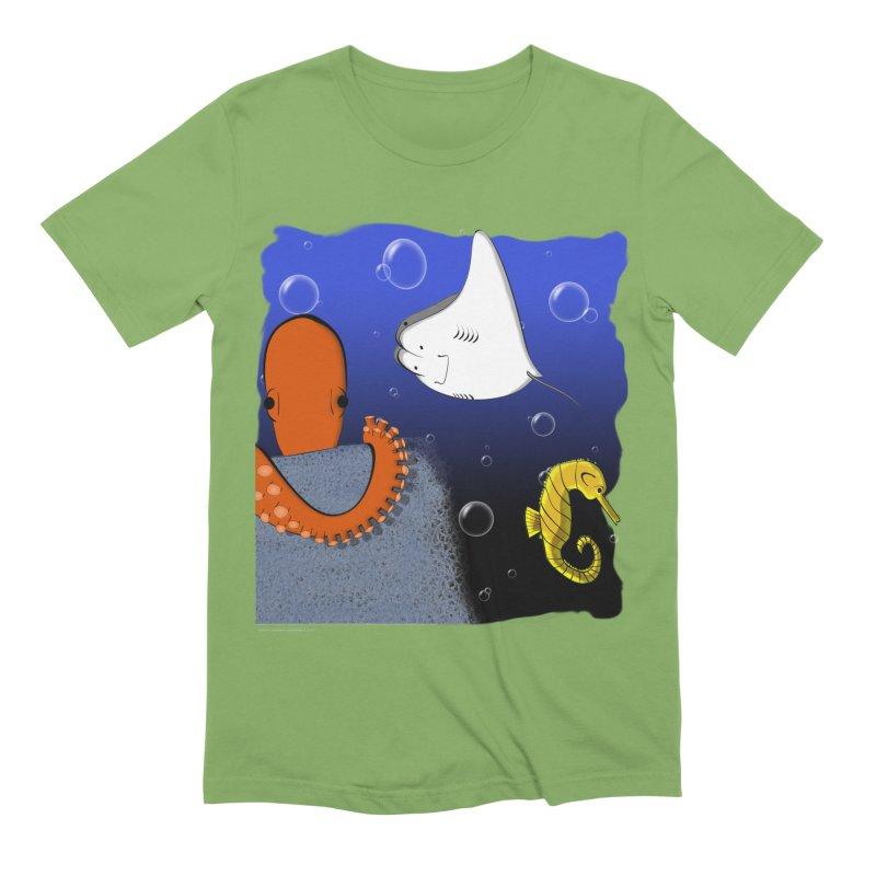 Sea Life Men's T-Shirt by Every Drop's An Idea's Artist Shop