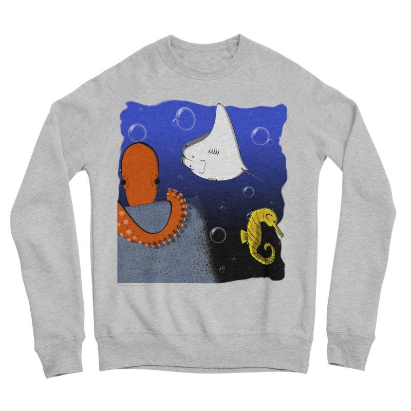 Sea Life Men's Sweatshirt by Every Drop's An Idea's Artist Shop