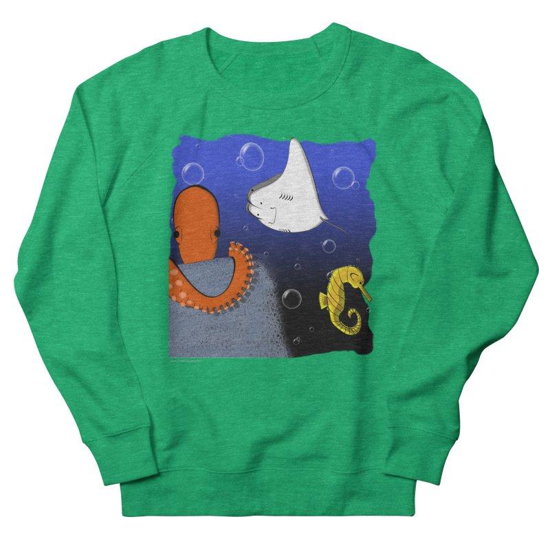 Sea Life Women's Sweatshirt by Every Drop's An Idea's Artist Shop