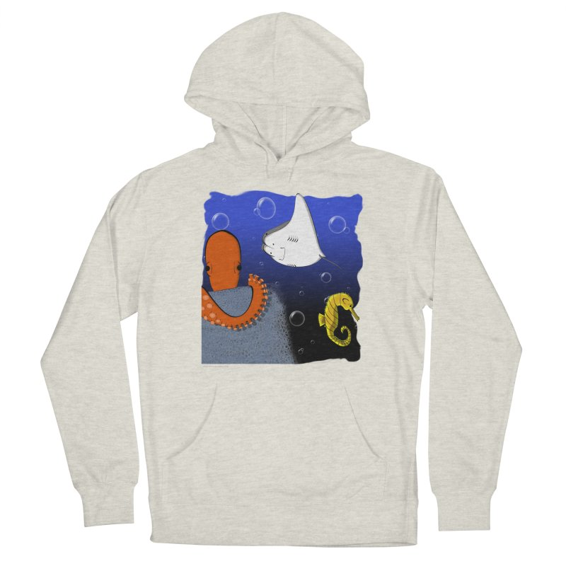 Sea Life Men's Pullover Hoody by Every Drop's An Idea's Artist Shop
